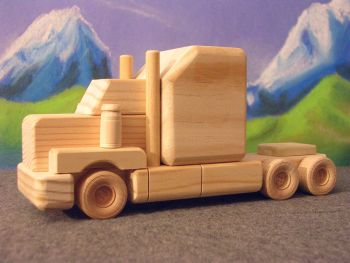 Wooden Toys - Tandem Axle Classic Tractor