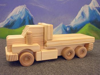Instructions Build Wooden Toy Truck