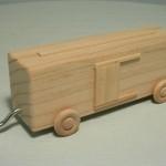 woodtoyz wooden boxcar
