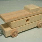 woodtoyz wooden toy caboose