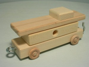 our old caboose model