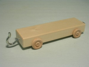flatbed car