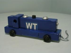 wooden diesel engine